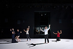 INITIO<br /> <br /> CONCEPTION Tatiana Julien, Pedro Garcia-Velasquez<br /> MISE EN SCÈNE, CHORÉGRAPHIE Tatiana Julien<br /> COMPOSITION MUSICALE Pedro Garcia-Velasquez<br /> LIVRET Alexandre Salcède<br /> DIRECTION MUSICALE Maxime Pascal<br /> PROJECTION SONORE Florent Derex<br /> LUMIÈRES Kevin Briard<br /> COSTUMES Pascale Lavandier<br /> AVEC Brigitte Asselineau, Benjamin Forgues, Christine Gérard, Yoann Hourcade, Tatiana Julien (DANSEURS), Rodrigo Ferreira (CONTRE-TÉNOR), Léa <br /> <br /> Trommenschlager (SOPRANO) et le chœur Calligrammes (CHANTEURS), Valentin Broucke (VIOLON), Héloïse Dély (BASSE), Juliette Herbet (SAXOPHONES), Askar <br /> <br /> Ishangaliyev (VIOLONCELLE), Ghislain Roffat (CLARINETTES), Axel Rigaud (SYNTHÉTISEUR)<br /> Compagnie : Interscribo<br /> Cadre : L'année france-colombie 2017<br /> Date : 28/11/2017<br /> Lieu : Théâtre National de la Danse de Chaillot<br /> Ville : Paris