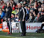 Nigel Adkins manager of Sheffield Utd - English League One - Fleetwood Town vs Sheffield Utd - Highbury Stadium - Fleetwood - England - 5rd March 2016 - Picture Simon Bellis/Sportimage