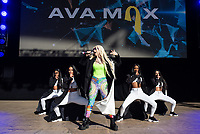 MOUNTAIN VIEW, CALIFORNIA - JUNE 2: Ava Max performs during Wild 94.9's Wazzmatazz at Shoreline Amphitheatre on June 2, 2019 in Mountain View, California. <br /> CAP/MPI/IS/CT<br /> ©CT/IS/MPI/Capital Pictures