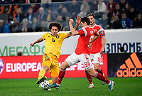 Axel Witsel midfielder of Belgium, Daler Kuzyaev forward of Russia  <br /> Saint Petersbourg  - Qualification Euro 2020 - 16/11/2019 <br /> Russia - Belgium <br /> Foto Photonews/Panoramic/Insidefoto <br /> ITALY ONLY