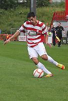 Stephen Hendrie in the Hamilton Academical v Motherwell friendly match played at New Douglas Park, Hamilton on 24.7.12..
