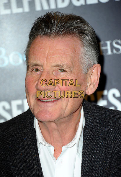 LONDON, ENGLAND - DECEMBER 03: Michael Palin signs copies of his book 'Travelling To Work' at Selfridges on December 3, 2014 in London, England.<br /> CAP/CJ<br /> &copy;Chris Joseph/Capital Pictures