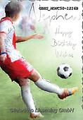 John, MASCULIN, MÄNNLICH, MASCULINO, paintings+++++,GBHSMONC50-1216B,#m#, EVERYDAY ,soccer