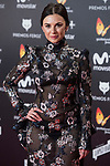 Miren Ibarguren  attends red carpet of Feroz Awards 2018 at Magarinos Complex in Madrid, Spain. January 22, 2018. (ALTERPHOTOS/Borja B.Hojas)