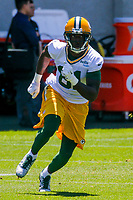 Green Bay Packers wide receiver Geronimo Allison (81) during an OTA on June 1, 2017 at Clark Hinkle Field in Green Bay, Wisconsin. (Brad Krause/Krause Sports Photography)