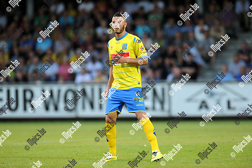 2014-07-26 / Voetbal / seizoen 2014-2015 / KVC Westerlo - Sporting Lokeren / Mohammed Aoulad<br />