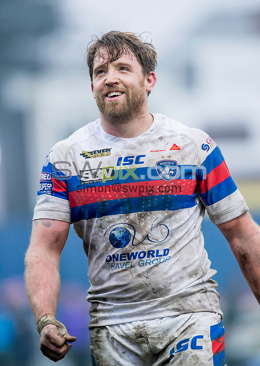 Picture by Allan McKenzie/SWpix.com - 04/03/2018 - Rugby League - Betfred Super League - Wakefield Trinity v Huddersfield Giants - The Mobile Rocket Stadium, Wakefield, England - Danny Kirmond.