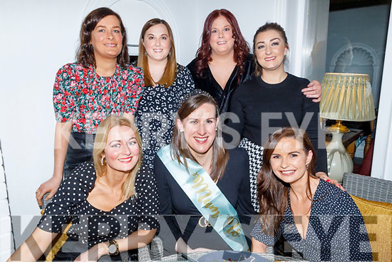 Niamh Lawlor from Ardfert enjoying her Baby Shower in Bella Bia on Saturday.<br /> Seated l to r: Stephanie Keane Stack, Niamh Lawlor and Lorraine Hinchy.<br /> Back l to r: Mary O'Brien, Tina and Sharon Larkin and Laura O'Carroll.