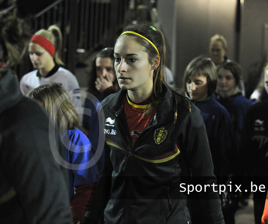 Belgium - Austria : Tessa Wullaert.foto DAVID CATRY / Vrouwenteam.be