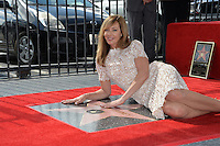 LOS ANGELES, CA. October 17, 2016: Allison Janney at the Hollywood Walk of Fame Star ceremony honoring actress Allison Janney.<br /> Picture: Paul Smith/Featureflash/SilverHub 0208 004 5359/ 07711 972644 Editors@silverhubmedia.com