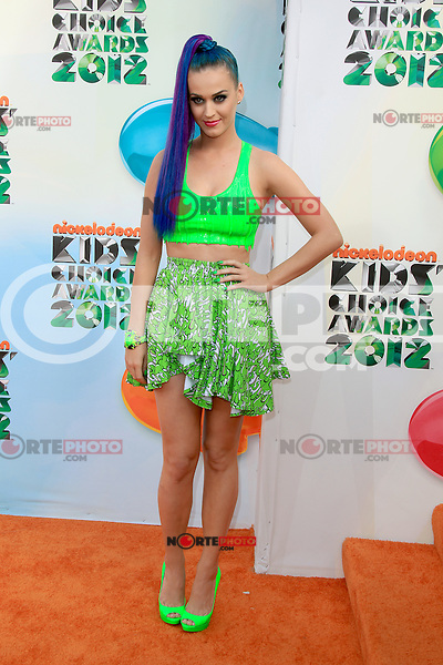Katy Perry at Nickelodeon's 25th Annual Kids' Choice Awards at The Galen Center on March 31, 2012 in Los Angeles, California. © mpi26/MediaPunch Inc.