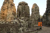 Monks at Bayon.