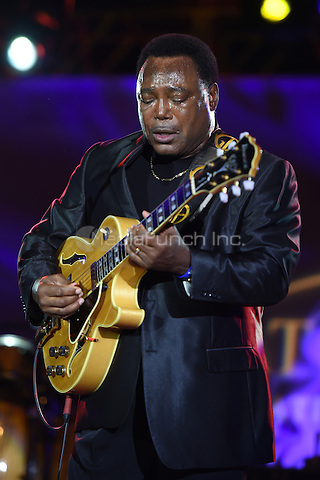 COCONUT CREEK, FL - APRIL 25 :  George Benson performs at the Seminole Coconut Creek Casino as part of the Nat King Cole Generation Hope Concert on April 25, 2015 in Coconut Creek , Florida.Credit: mpi04/MediaPunch
