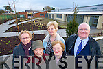 VACANT: Members of the Senior Citizens Campaign Group outside the vacant Community Hospital Building in Tralee this week, front l-r: Joan O'Malley and Kathleen Hurley. Back l-r: Mary O'Brien, Mairead Fernane and Tim Guiheen.   Copyright Kerry's Eye 2008