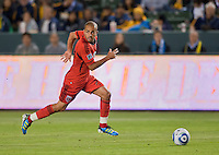CARSON, CA – June 3, 2011: DC United midfielder Fred (27) during the match between LA Galaxy and DC United at the Home Depot Center in Carson, California. Final score LA Galaxy 0, DC United 0.
