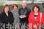 Mary McElligott (Listowel) Aileen Trant (Listowel) Donacha Ó Mathuna (Abbeydorney) and Geraldine Behan (Listowel) pictured at Listowel races on Sunday.