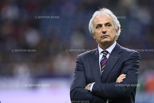 Vahid Halilhodzic (JPN), MARCH 29, 2016 - Football / Soccer : FIFA World Cup Russia 2018 Asian Qualifier Second Round Group E match between Japan 5-0 Syria at Saitama Stadium 2002 in Saitama, Japan. (Photo by Yohei Osada/AFLO SPORT)