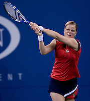 Kim Clijsters (BEL) against Serena Williams (USA) (2) in the Semifinals. Clijsters beat Williams 6-4 7-5..International Tennis - US Open - Day 13  Sat 12 Sep 2009 - USTA Billie Jean King National Tennis Center - Flushing - New York - USA ..© Frey Images, Barry House, 20-22 Wople Road, London, SW19 4DH.Tel - +44 20 8947 0100.Cell - +44 7843 383 012.Email - mfrey@advantagemedianet.com