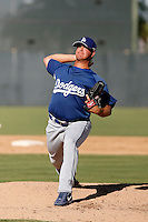 Jon Michael Redding - Los Angeles Dodgers 2009 Instructional League. .Photo by:  Bill Mitchell/Four Seam Images..