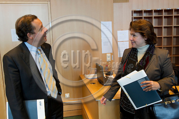 BRUSSELS - BELGIUM - 03 DECEMBER 2010 -- European Training Foundation conference on Promoting Social Inclusion and Combating Poverty through Cooperation in Education, Training and Work in EU Neighbouring Countries. PHOTO: ERIK LUNTANG / EUP-Images