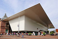 Aanbouw aan het Stedelijk Museum Amsterdam