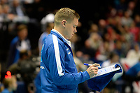 GRONINGEN - Volleybal, Abiant Lycurgus - Luboteni, voorronde Champions League, seizoen 2017-2018, 26-10-2017, Lycurgus coach Arjan Taaij