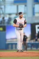 ***Temporary Unedited Reference File***Arkansas Travelers starting pitcher Blayne Weller (30) during a game against the Tulsa Drillers on April 28, 2016 at ONEOK Field in Tulsa, Oklahoma.  Tulsa defeated Arkansas 5-4.  (Mike Janes/Four Seam Images)