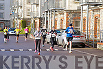 Juliette Ward, Laura Daly, Caroline Hallissey and Mike Dreelan at the Valentines 10 mile road race in Tralee on Saturday.