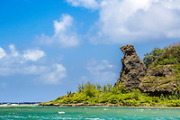 Bear Rock, a landmark in the south on the island of Guam.