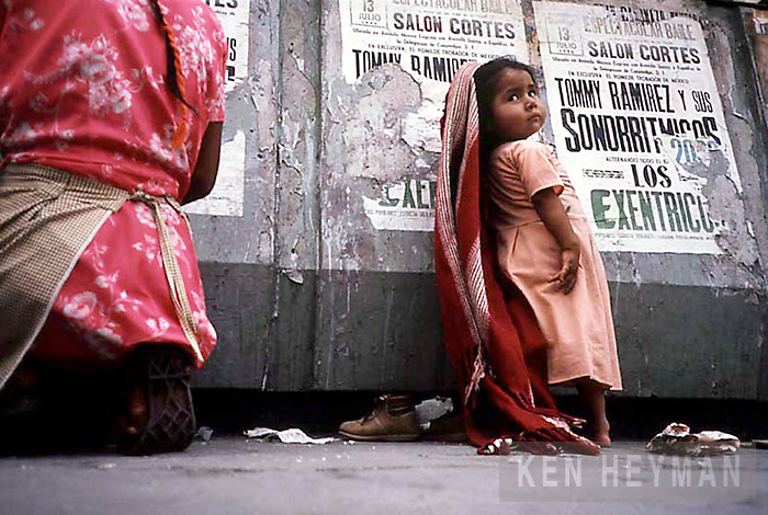 Beggar child, Mexico City