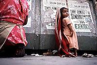 Beggar child, Mexico City