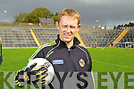 Kerry Captain Colm Cooper at the Kerry Senior Football Team Media day at Fitzgerald Stadium on Saturday.