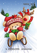 Roger, CHRISTMAS ANIMALS, WEIHNACHTEN TIERE, NAVIDAD ANIMALES, paintings+++++,GBRM837,#xa#