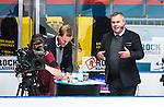 Stockholm 2014-09-11 Ishockey Hockeyallsvenskan AIK - S&ouml;dert&auml;lje SK :  <br /> Visat Sports expert kommentator Leif R Str&ouml;mberg i TV-studion under matchen mellan AIK och S&ouml;dert&auml;ljes <br /> (Foto: Kenta J&ouml;nsson) Nyckelord:  AIK Gnaget Hockeyallsvenskan Allsvenskan Hovet Johanneshovs Isstadion S&ouml;dert&auml;lje SK SSK TV TV-studio Viasat Sport portr&auml;tt portrait