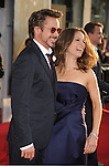 "HOLLYWOOD, CA. - April 26: Actor Robert Downey Jr. and Executive Producer Susan Downey  arrive at the ""Iron Man 2"" World Premiere held at the El Capitan Theatre on April 26, 2010 in Hollywood, California."