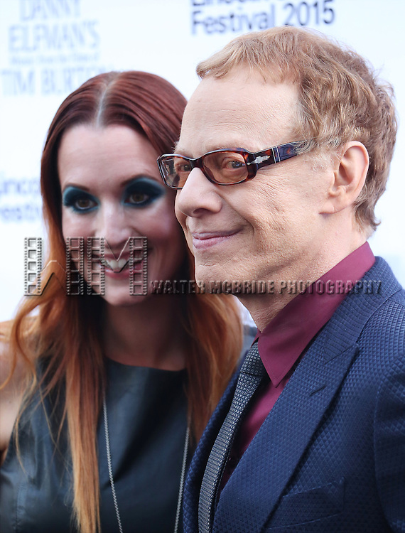 Ingrid Michaelson and Danny Elfman attends the 'Danny Elfman's Music From The Films Of Tim Burton' - 2015 Lincoln Center Festival Opening Night at Josie Robertson Plaza at Lincoln Center on July 6, 2015 in New York City.