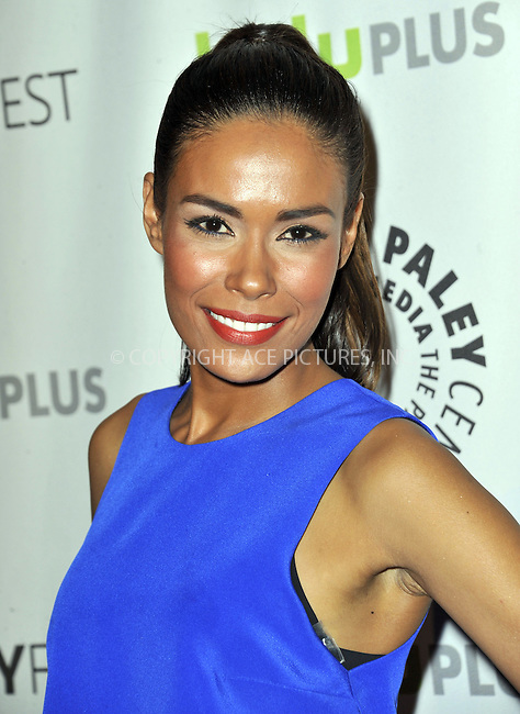 WWW.ACEPIXS.COM....March 2 2013, LA....Daniella Alonso arriving at the 30th Annual PaleyFest: The William S. Paley Television Festival featuring 'Revolution' at the Saban Theatre on March 2, 2013 in Beverly Hills, California.......By Line: Peter West/ACE Pictures......ACE Pictures, Inc...tel: 646 769 0430..Email: info@acepixs.com..www.acepixs.com