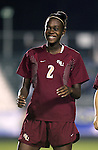 Florida State's India Trotter on Friday, November 4th, 2005 at SAS Stadium in Cary, North Carolina. The University of Virginia Cavaliers defeated the Florida State University Seminoles 2-0 in their Atlantic Coast Conference Tournament Semifinal game.