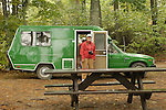 1982 Toyota Ranger Camper. 'Pinecone' with Barbara Reeder.