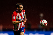 9th January 2018, Wanda Metropolitano, Madrid, Spain; Copa del Rey football, round of 16, second leg, Atletico Madrid versus Lleida; Juanfran Torres (Atletico de Madrid)