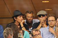 Leonardo Di Caprio<br /> New York Flushing Meadows 03-09-2013 Tennis Torneo US Open Grande Slam.<br /> Photo Antoine Couvercelle / Panoramic / Insidefoto<br /> ITALY ONLY