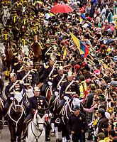 BOGOTÁ - COLOMBIA. 20-07-2017:Desfile Militar con motivo del 207 Aniversario de la Independencia de Nacional de Colombia relaizado en la ciudad de Bogotá. / Military Parade on the occasion of the 207th Anniversary of National Independence of Colombia that took place in Bogota city. Photo: VizzorImage / Mateo Castro / CONT