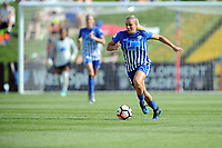 Boyds, MD - Saturday August 12, 2017: Adriana Leon during a regular season National Women's Soccer League (NWSL) match between the Washington Spirit and The Boston Breakers at Maureen Hendricks Field, Maryland SoccerPlex.
