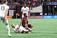 Atlanta, GA - July 21, 2019. Atlanta United FC defeated D.C. United, 2-0, in an Eastern Conference showdown played at Mercedes-Benz Stadium in front of a crowd of 44,405.