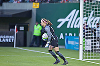 Portland, OR - Saturday, May 21, 2016: Washington Spirit goalkeeper Stephanie Labbe (1). The Portland Thorns FC defeated the Washington Spirit 4-1 during a regular season National Women's Soccer League (NWSL) match at Providence Park.