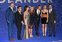 Will Ferrell, Ben Stiller, Penelope Cruz, Christine Taylor, Owen Wilson, Kristen Wiig and Justin Theroux<br /> at the fashionable screening of &quot;Zoolander No.2&quot;, Empire Leicester Square, London.<br /> <br /> <br /> &copy;Ash Knotek  D3079 04/02/2016