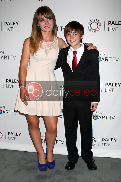 """Christina Robinson, Preston Bailey<br /> at the PaleyFest Fall Previews:  Fall Farwell - """"Dexter,"""" Paley Center for Media, Beverly Hills, CA 09-12-13<br /> David Edwards/DailyCeleb.Com 818-249-4998"""
