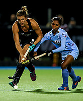 Brooke Neal of the Blacksticks during the international hockey match between the Blacksticks Women and India, Rosa Birch Park, Pukekohe, New Zealand. Tuesday 16  May 2017. Photo:Simon Watts / www.bwmedia.co.nz