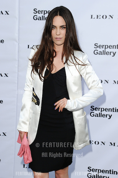 Tallulah Harlech arriving for the Serpentine Gallery Summer Party 2012, Hyde Park, London. 26/06/2012 Picture by: Steve Vas / Featureflash