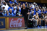 DURHAM, NC - DECEMBER 29: Duke head coach Joanne P. McCallie. The Duke University Blue Devils hosted the Liberty University Flames on December 29, 2017 at Cameron Indoor Stadium in Durham, NC in a Division I women's college basketball game. Duke won the game 68-51.